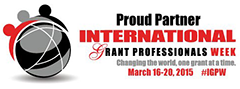 Proud Supporter of International Grant Professionals Week